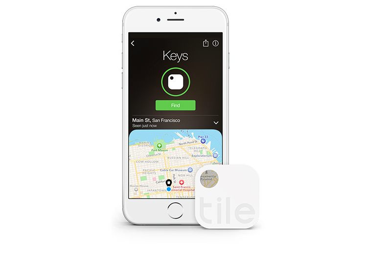 Tile location-tracking tags