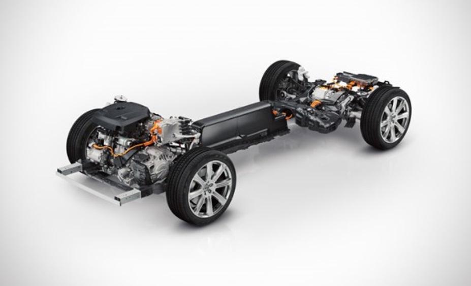Volvo's hybrid XC90 T8 platform