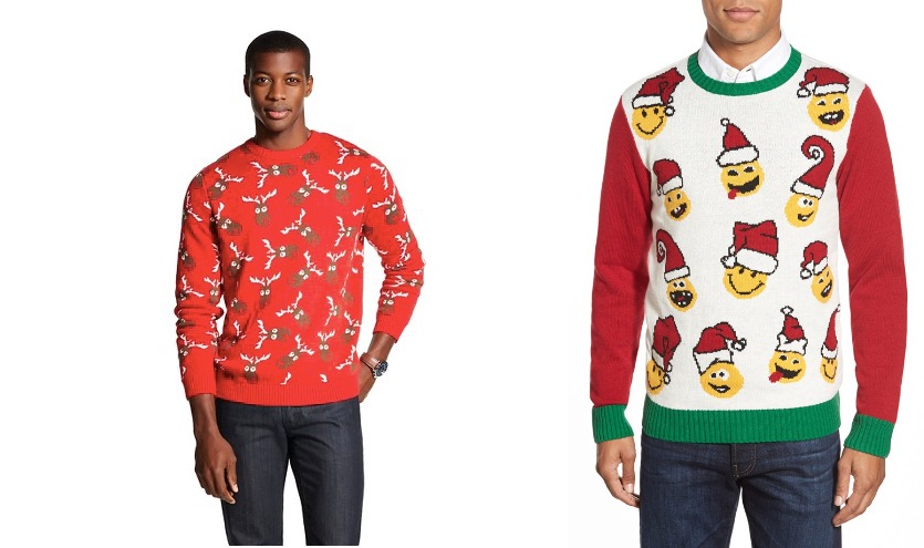 Ugly Christmas sweaters for holiday parties