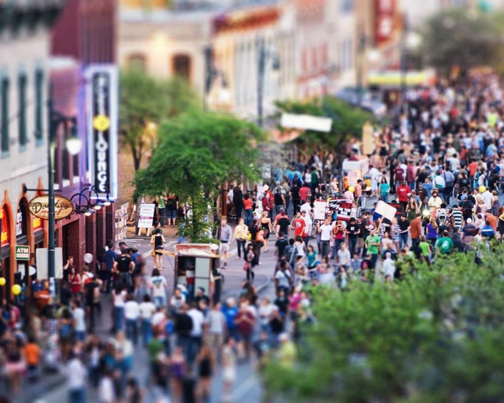 Sixth Street District, Austin, Texas