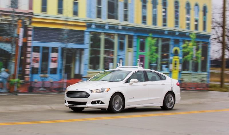 Ford's autonomous Fusion experiment