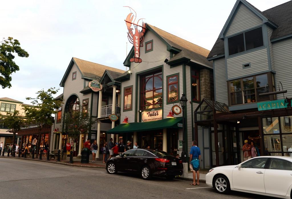 bar harbor main street