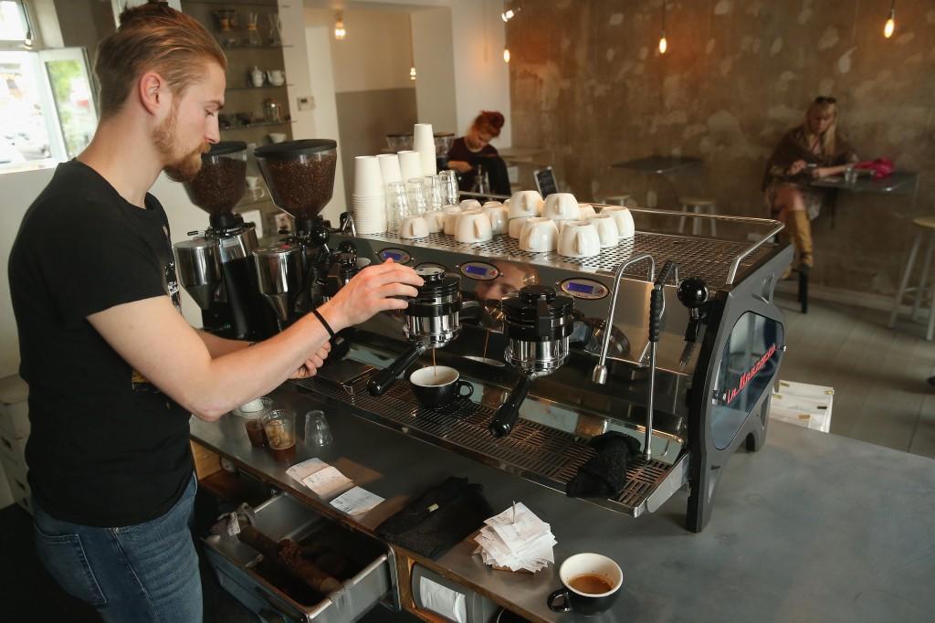 barista, coffee shop