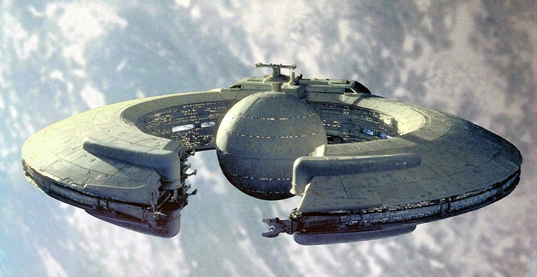 Trade Federation Battleship - Star Wars