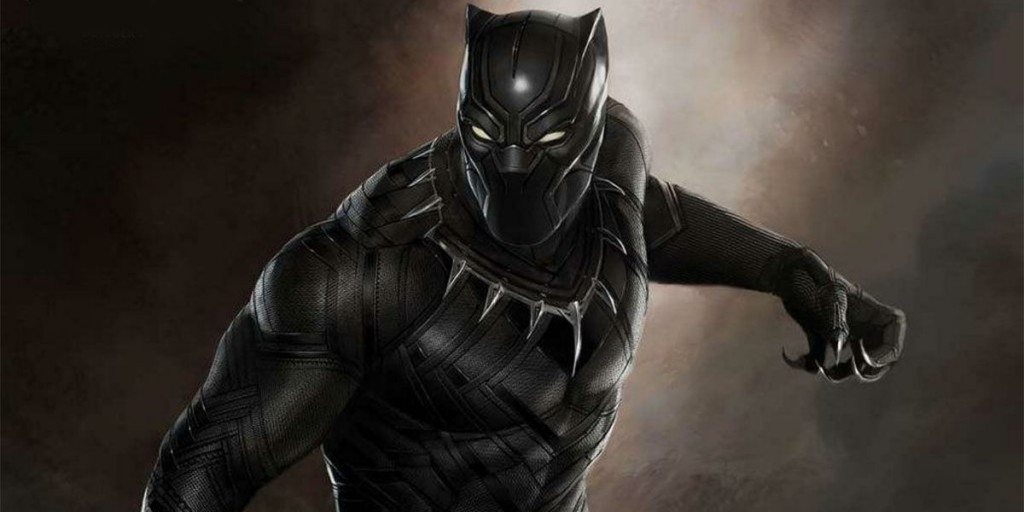 Black Panther in a promo image for Civil War