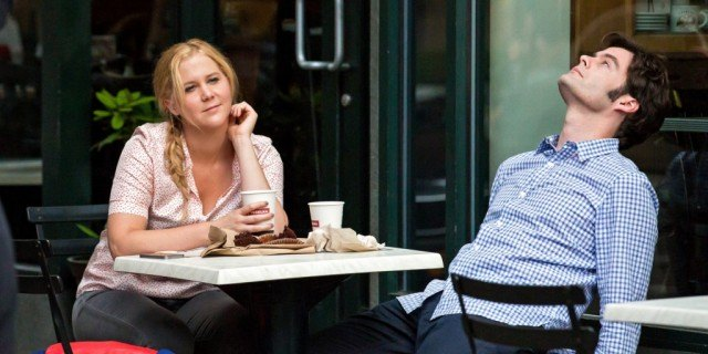 Amy Schumer and Bill Hader in 'Trainwreck'