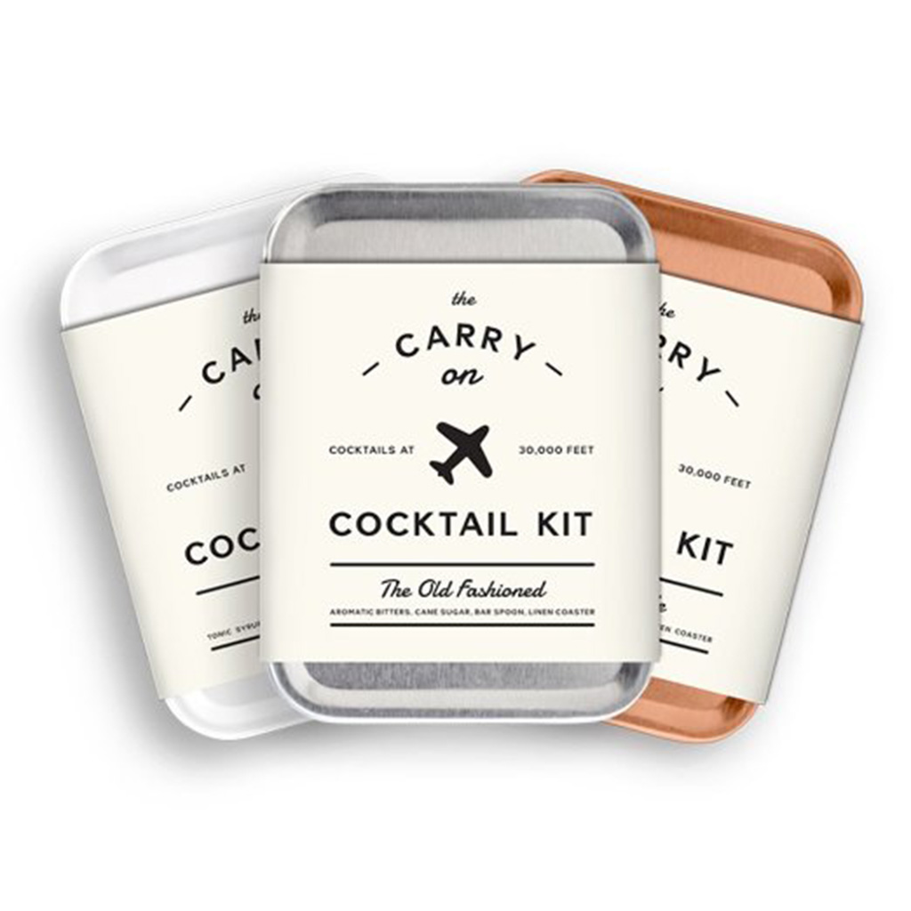 Carry On Cocktail Kit for airplane