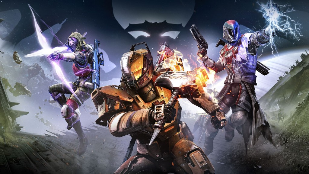 The cover art for Destiny: The Taken King.