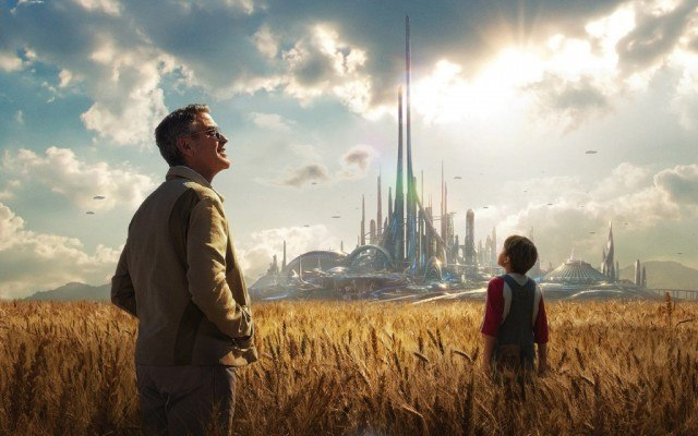 George Clooney in 'Tomorrowland'