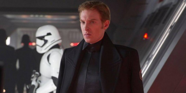 Domhnall Gleeson in 'Star Wars: The Force Awakens'