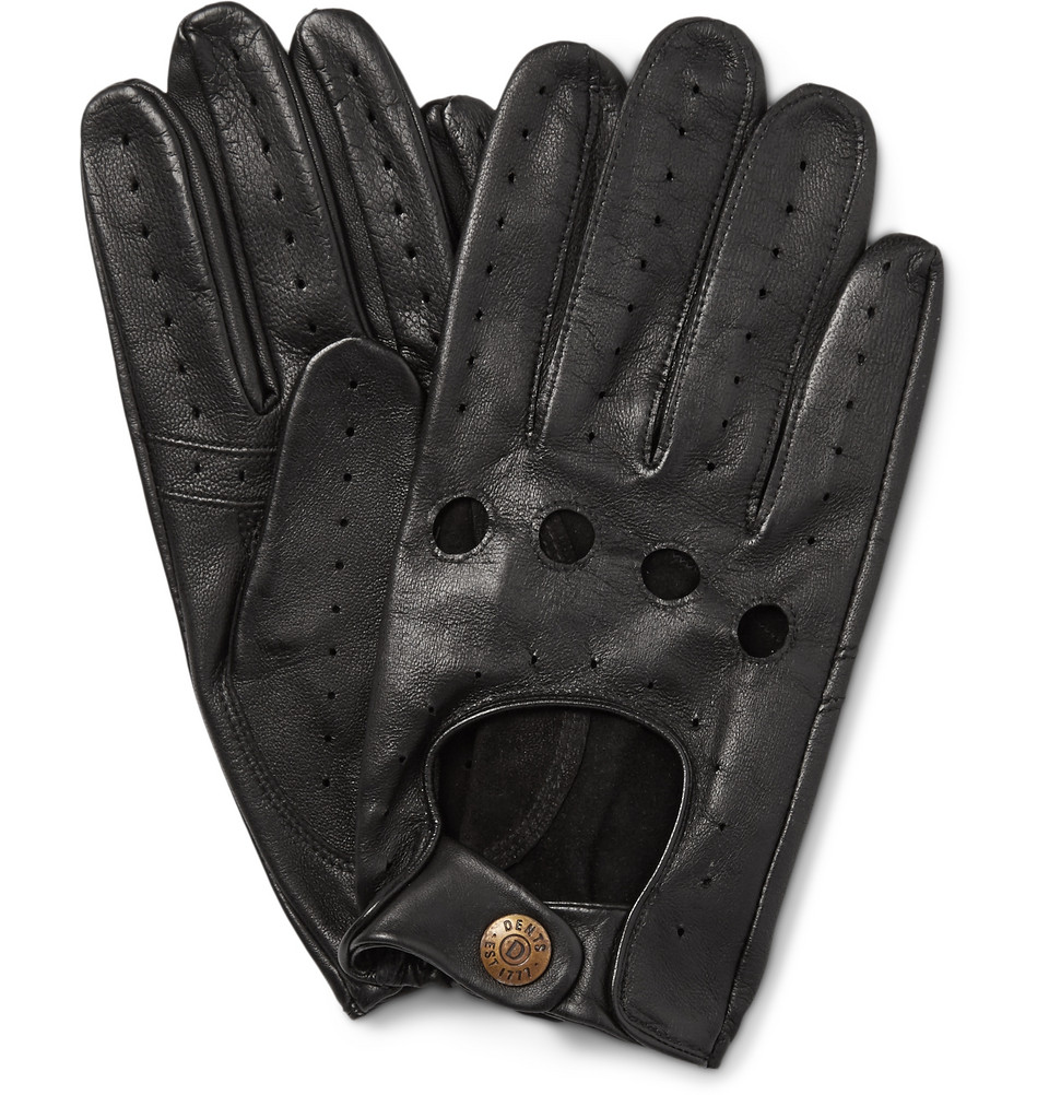 Leather driving gloves dents - Gloves