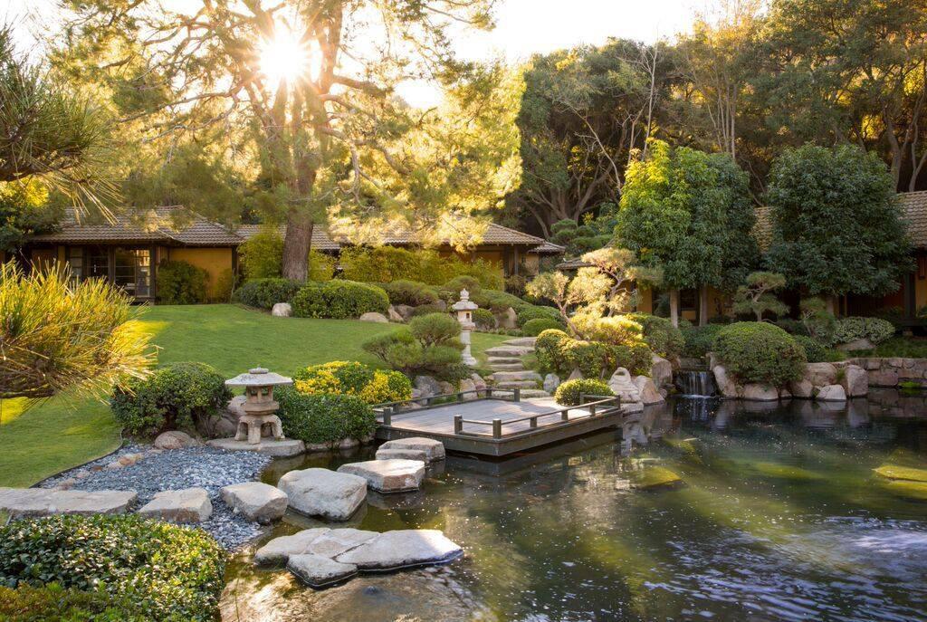 Golden Door resort in San Marcus, California