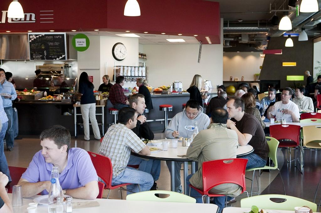 google cafeteria