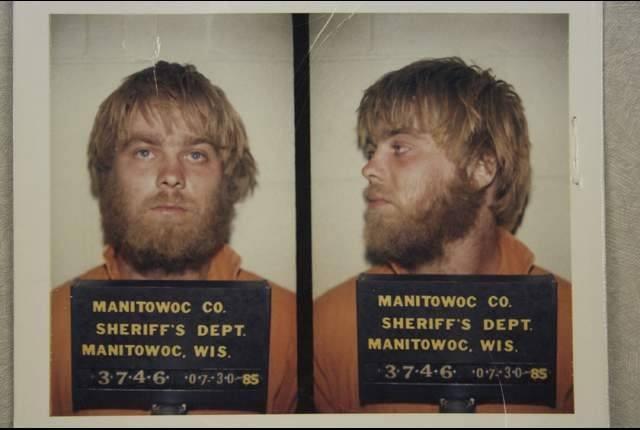 Steven Avery's mugshot on Netflix's Making a Murderer