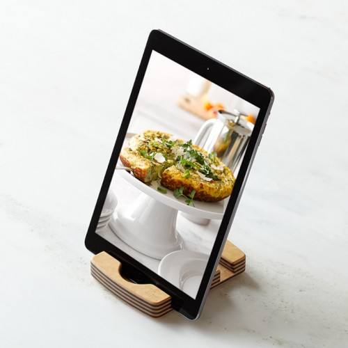 orange chef ipad stand