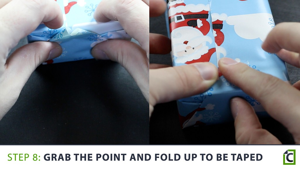 how to wrap a present 8