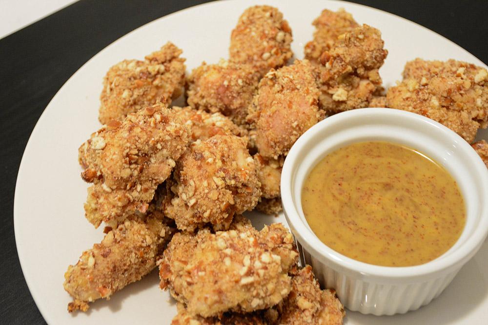 Pretzel-Coated Chicken Nuggets 1