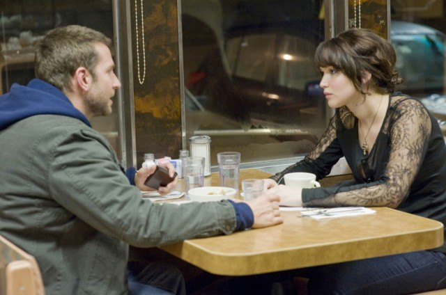 Bradley Cooper and Jennifer Lawrence in 'Silver Linings Playbook'