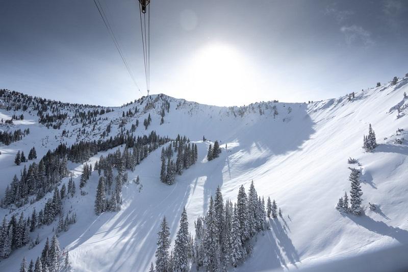 skiing, Snowbird