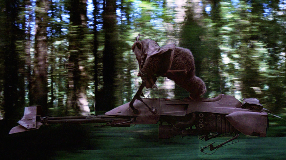 Endor Speeder Bike - Star Wars