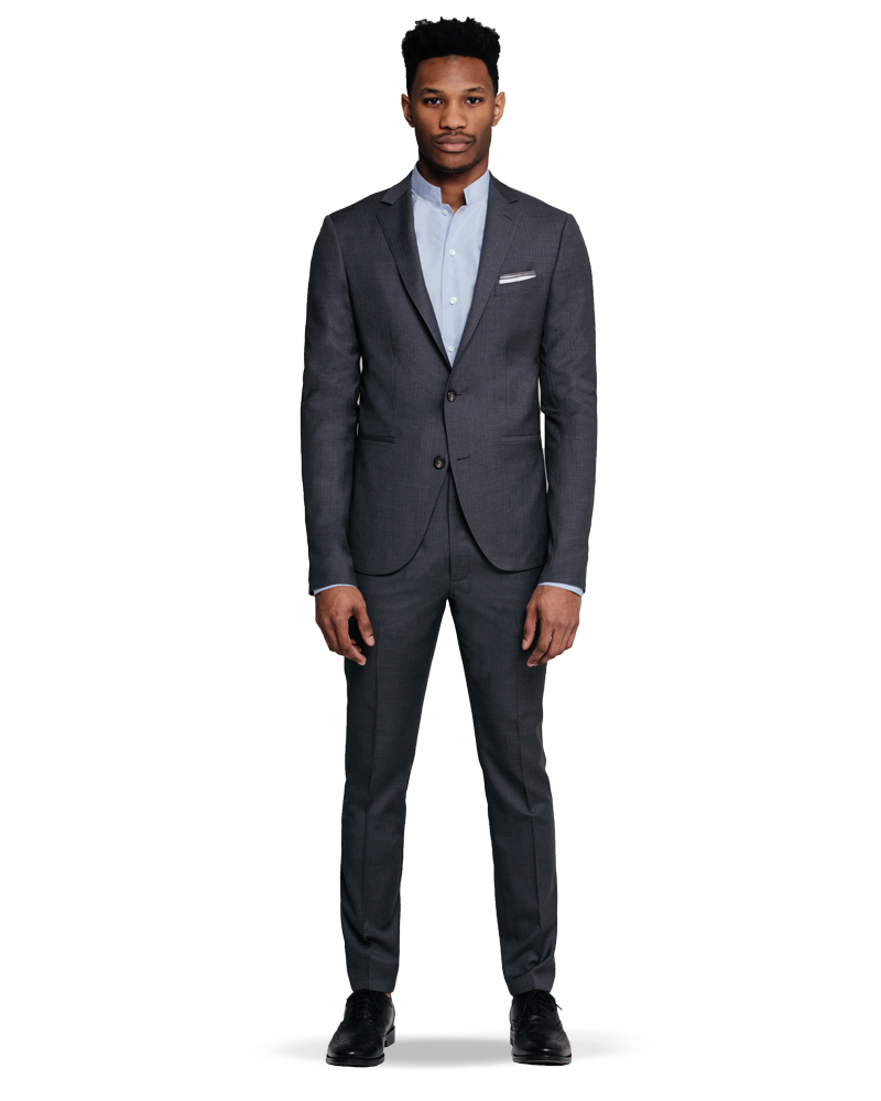 Man wearing a suit