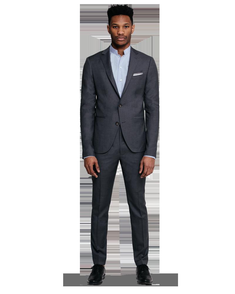 Man wearing a suit