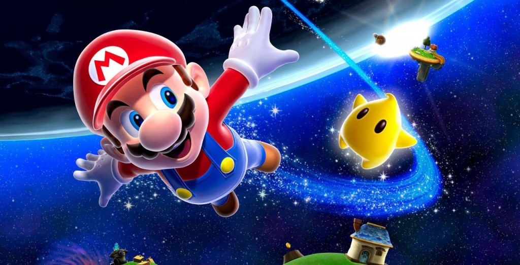 Mario soars through outer space in one of the best Wii games ever.