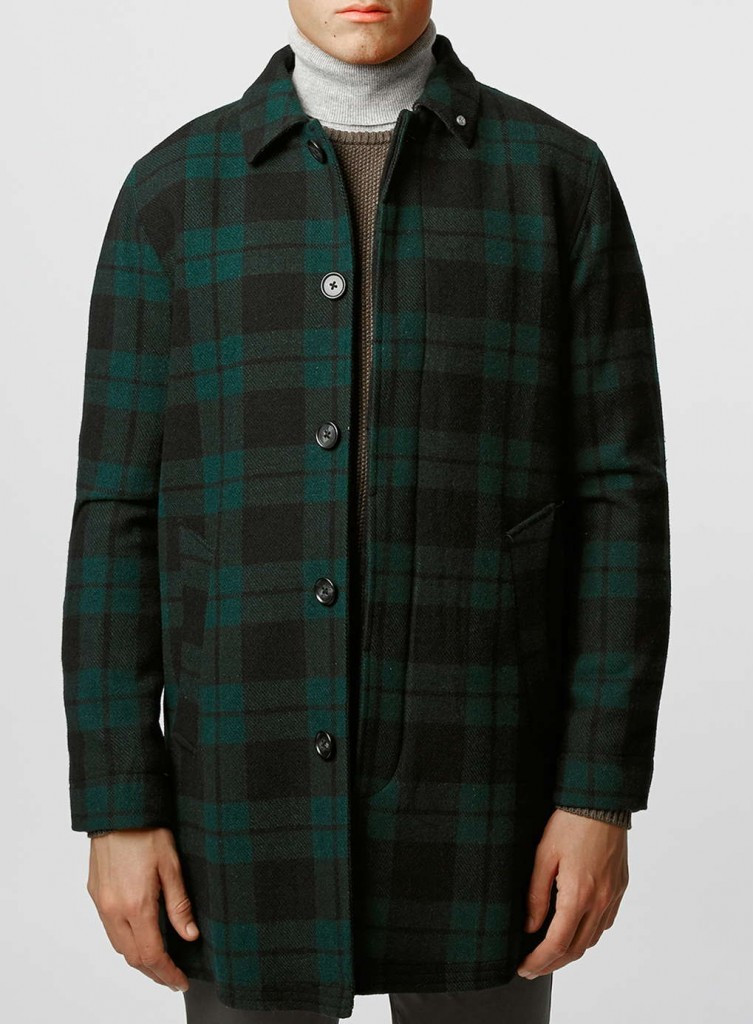 tartan coat