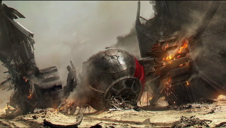 TIE Fighter, The Force Awakens - Star Wars