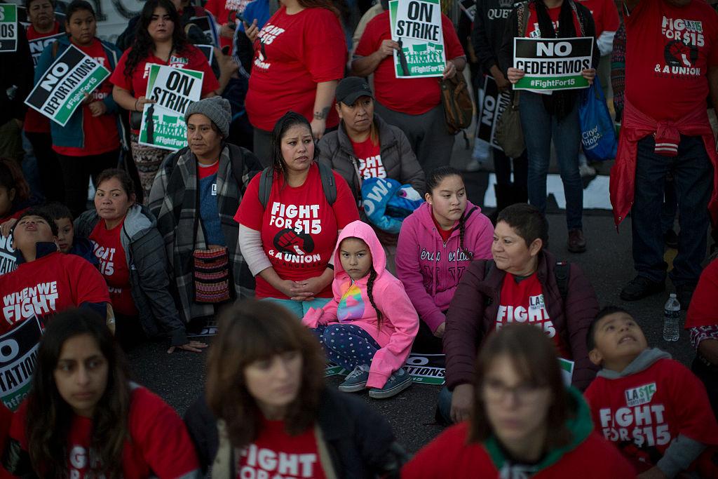 union protest