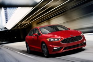 Ford Goes to Bat in Detroit With a 325-Horsepower Fusion
