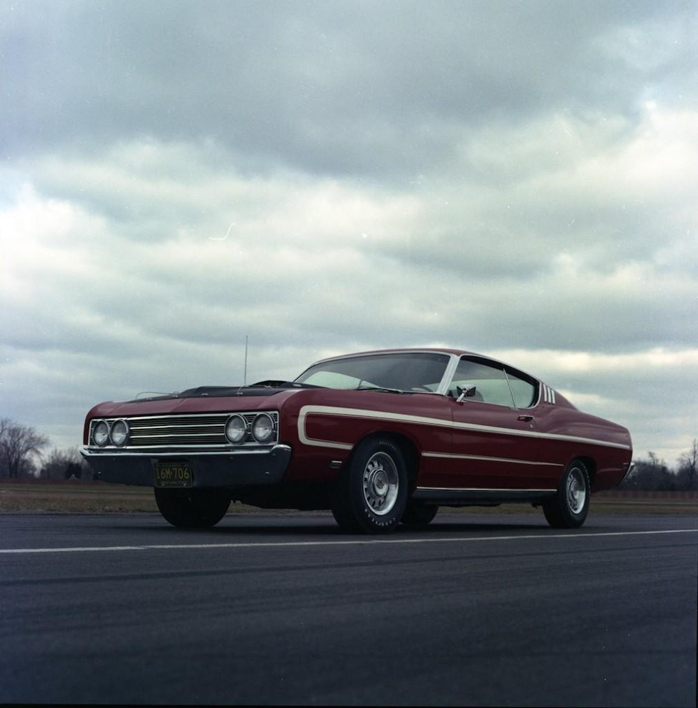 1969 Ford Torino Talladega prototype neg CN5501-341