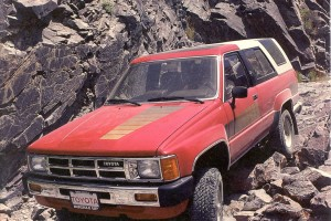 Was the Toyota 4Runner the Best SUV of the '80s?