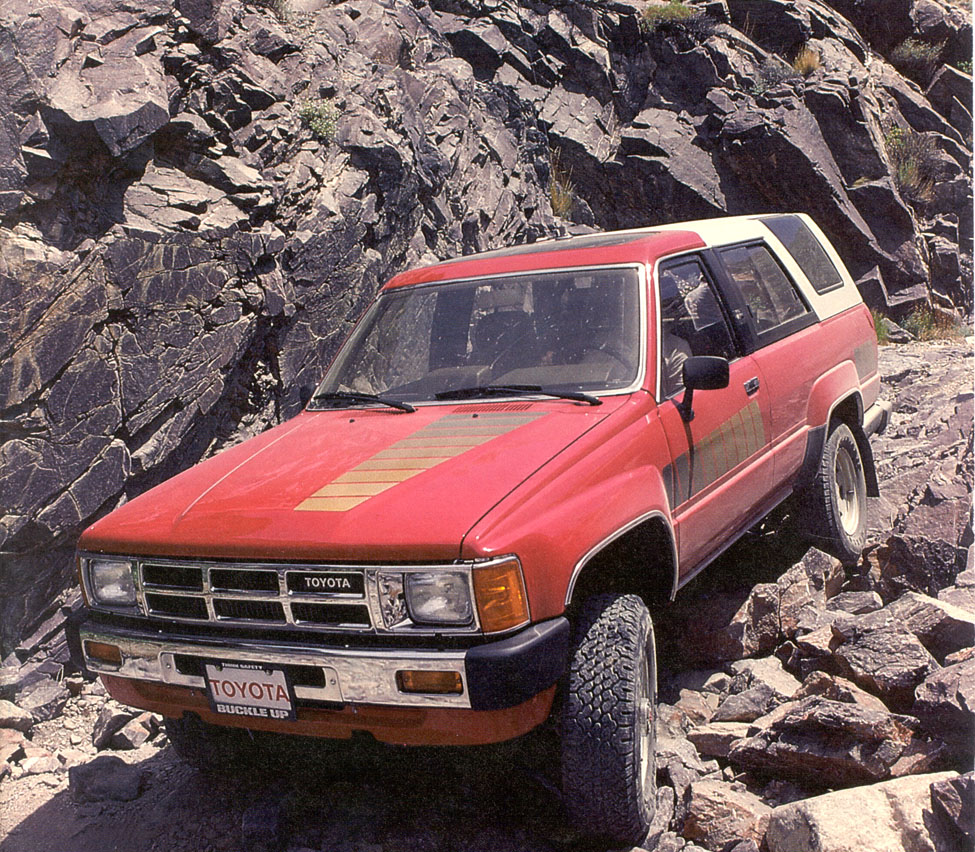 Was The Toyota Runner The Best SUV Of The S - 4runner truck