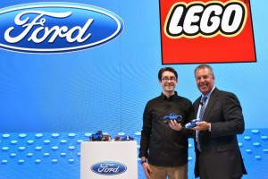 Ford Teams Up With LEGO: Look What They Came Up With