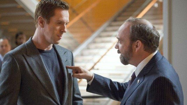 Damien Lewis and Paul Giamatti star in Showtime's financial drama 'Billions'