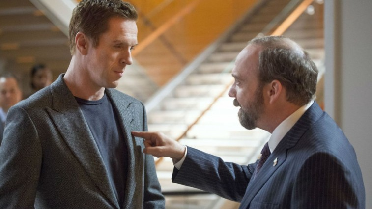 Damien Lewis and Paul Giamatti star in Showtime's Wall Street drama, 'Billions'