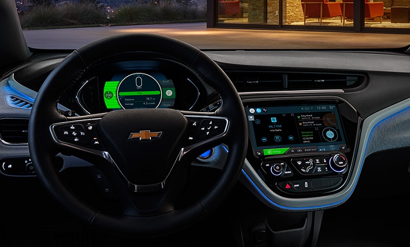 2016 Chevrolet Bolt electric vehicle technology