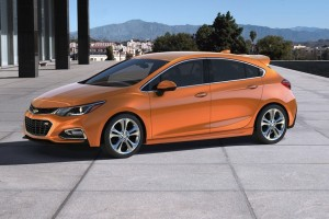 Chevy Joins the 5-Door Club With the 2017 Cruze Hatch