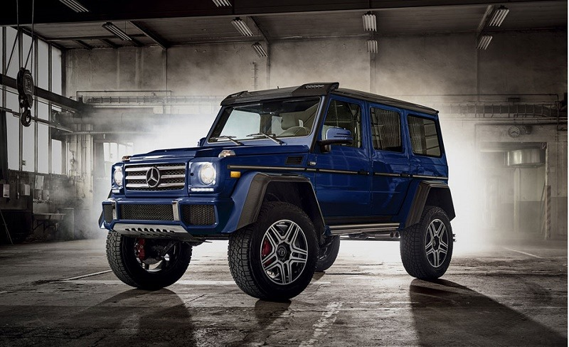 10 trucks that charge through snow with the best of them for Mercedes benz g class 4x4