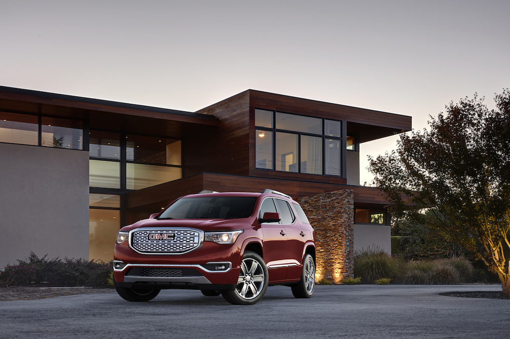 2017 All-New GMC Acadia Denali