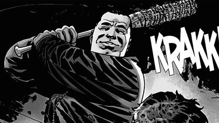 negan walking dead