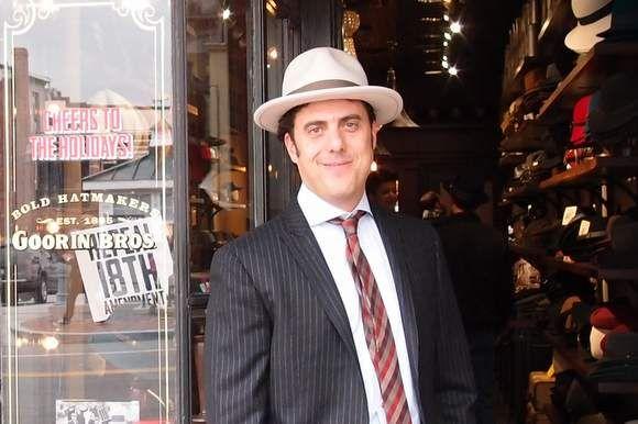 Ben Goorin in Goorin Bros. hat