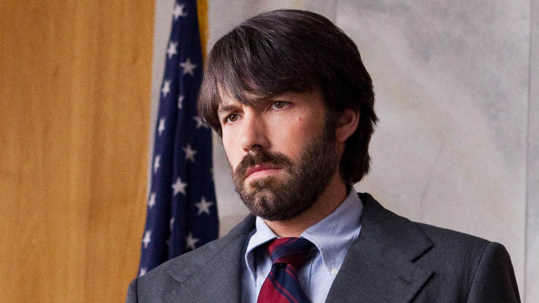 Ben Affleck is looking serious in Argo.