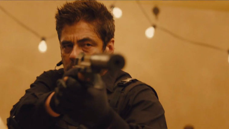 Benicio del Toro in Sicario