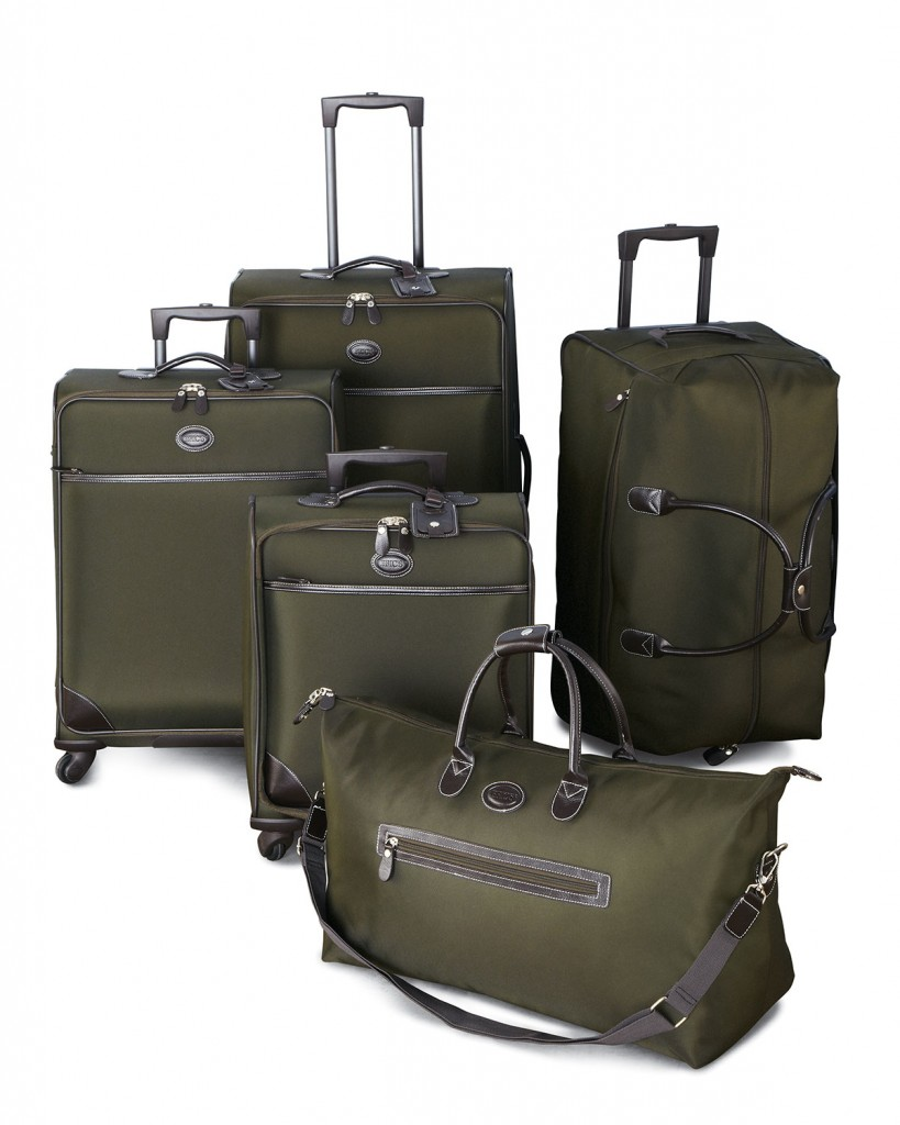 Bric's Pronto olive green luggage