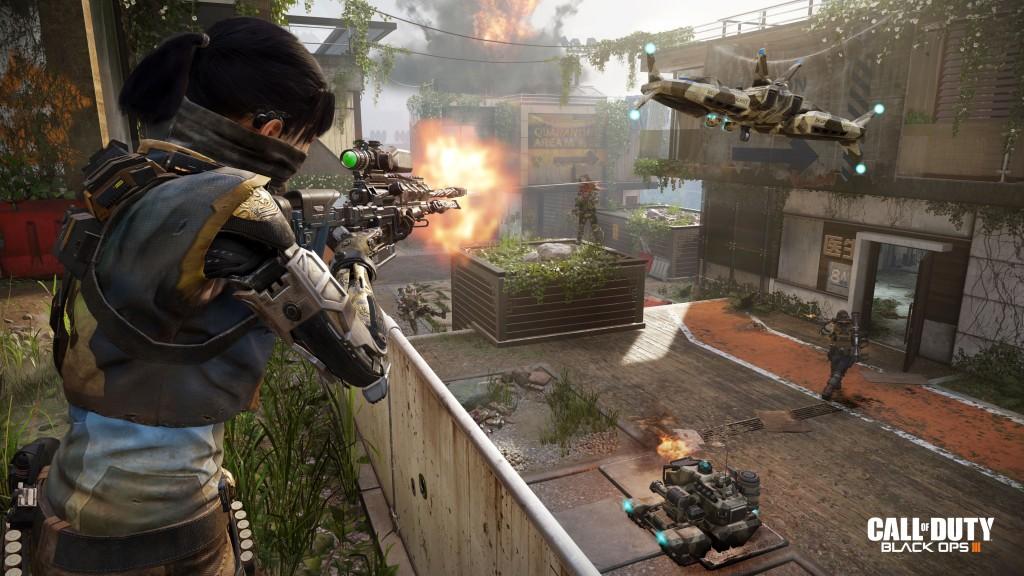 Call of Duty Black Ops 3 Sniper Range