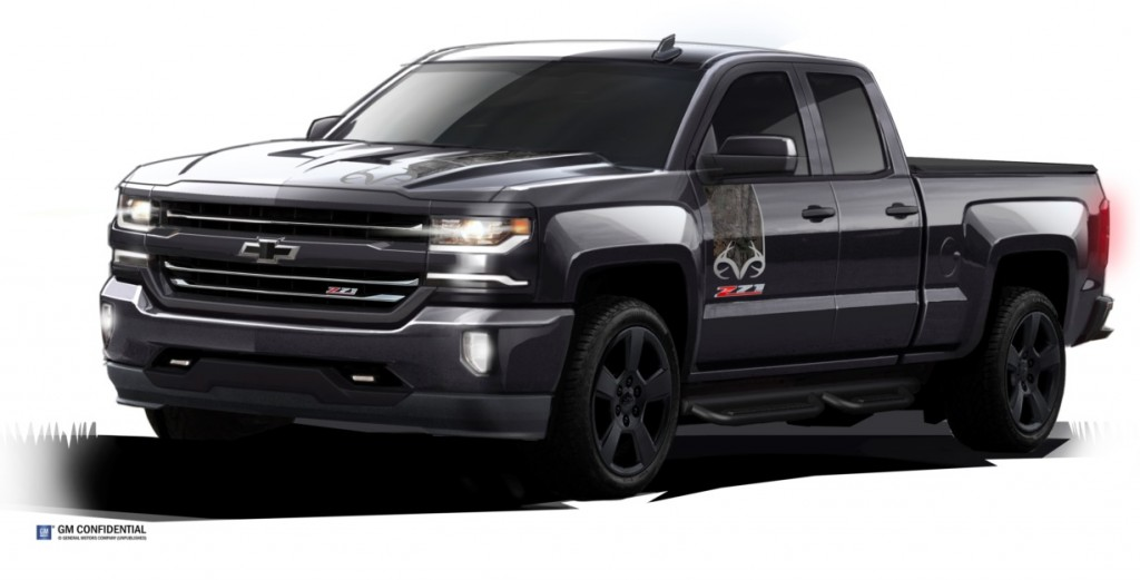 Chevy Unveils New Camo Silverado, We Bet You Can't Spot It