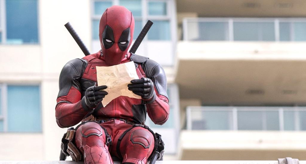 Deadpool reads a short note