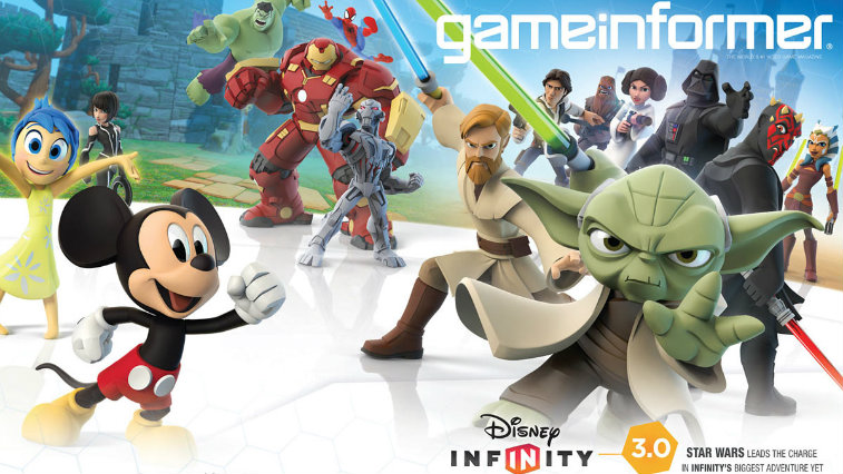 Disney Infinity Game Informer cover